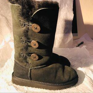 UGG black boots size 13 kids shoes
